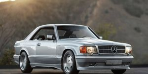 """RM Sotheby's will offer this 1989 Mercedes-Benz 560 SEC 6.0 AMG """"Wide Body"""" at their Arizona sale next month."""