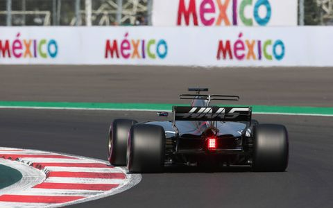 Formula 1 action from the  Autodromo Hermanos Rodriguez, Mexico City, Mexico, Saturday Oct. 28, 2017.