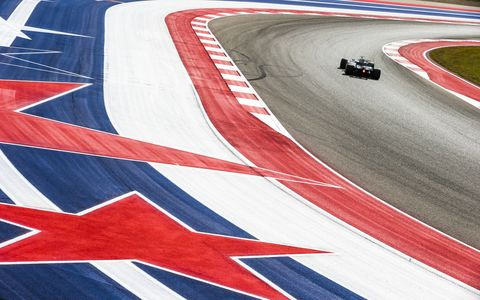 Sights from the Circuit of the Americas ahead of the  Formula 1 United States Grand Prix, Friday Oct. 20, 2017.