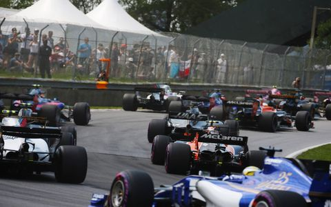 Sights from the Formula 1 Canadian Grand Prix at the Circuit Gilles Villeneuve, Sunday June 11, 2017.