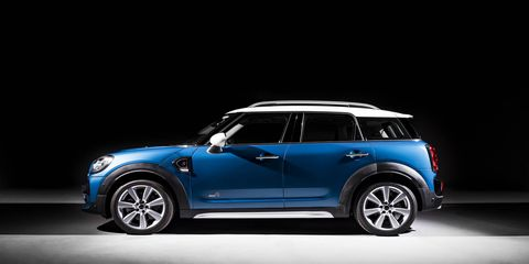 The 2017 Mini Cooper Countryman goes on sale in March, the plug-in version hits dealerships in June.