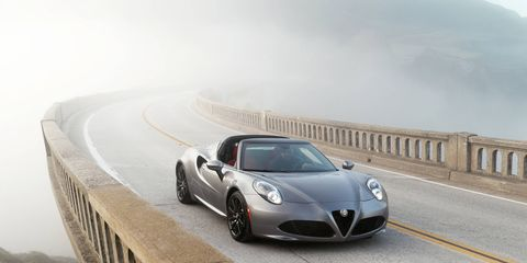 The 2016 Alfa Romeo adds more carbon fiber, new speakers and a new sound system for the model year. The 1.75-liter turbo four remains.