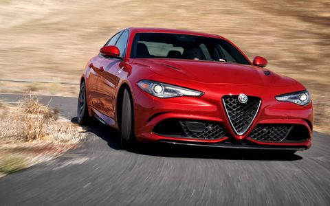 We drive the long-awaited 2017 Alfa Romeo Giulia Quadrifoglio, which packs a 505-hp 2.9-liter turbocharged V6 and, for the U.S. market, an eight-speed automatic transmission exclusively.