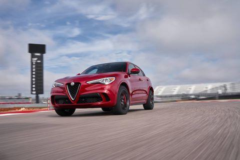 2018 Alfa Romeo Stelvio Quadrifoglio òappting Circuit of the Americas