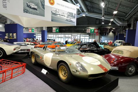 So much to see at Retromobile every year, from cars to bikes to tanks. Where else would you see a 1966 Serenissima Spyder? And most of it was for sale!