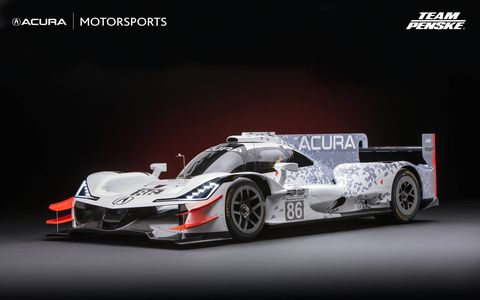 Acura unveiled the ARX-O5 and announced Team Penske will campaign it in the Daytona Prototype international category of the IMSA Weathertech SportsCar Championship starting at the Rolex 24 in Daytona.