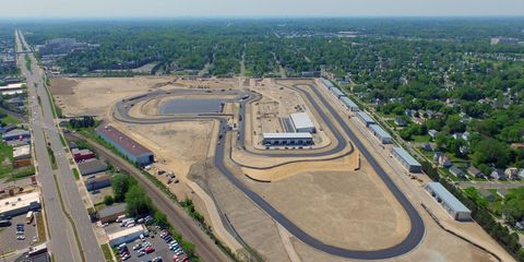 The 1.5-mile M1 Concourse in Pontiac, Michigan has its grand opening August 14, one week before the Woodward Dream Cruise.