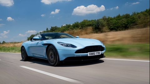 we drive the 2017 db11, aston martin's latest grand tourer with a sculpted body, stunning interior and 52 liter twin turbocharged v12 up front, the db11 is thrilling from any angle    and from behind the wheel