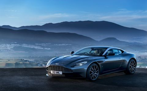 Photos of the 2017 Aston Martin DB11.