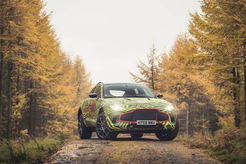 Aston Martin's first foray into the SUV/crossover world will be named DBX.