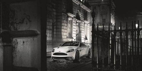 Aston Martin revealed its Vanquish Carbon Edition on Tuesday.