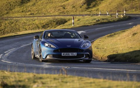 We drive the 6.0-liter V12-powered 2017 Aston Martin Vanquish S -- and find it to be a fitting send-off for the shapely British super-GT.