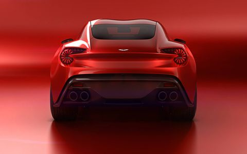 'We pride ourselves on our strong partnership and the creation of the Vanquish Zagato Concept was a true shared experience,' says Zagato's CEO, Andrea Zagato, 'it represents the essence of an important design relationship that dates back over fifty years.'