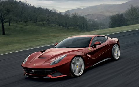 The all-aluminum Ferrari F12 still rules supreme in the V12-powered gran turismo class four years after its introduction, with 731 hp and a top speed of 211 mph.