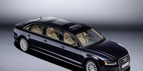 Audi has named this version the A8 L extended.