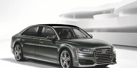 Audi could use the existing A8L to create a personal luxury limousine, as shown in this rendering, to challenge Mercedes-Benz in markets where there is demand for such models.