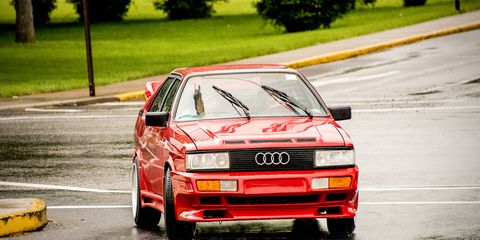 Audi Coupe  at the 2016 Carlisle Import Nationals.