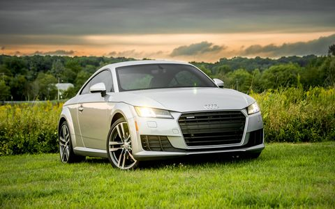 The TT offers a compelling alternative to the other coupes in Audi's lineup, which have eclipsed its prominence within the Audi stable years ago.