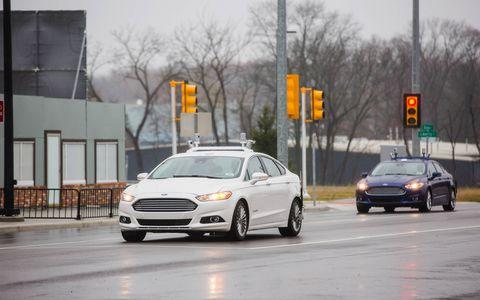 Autonomous Ford Fusion Hybrid