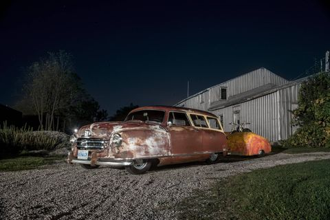 This 1951 Nash wagon is far from conventional.