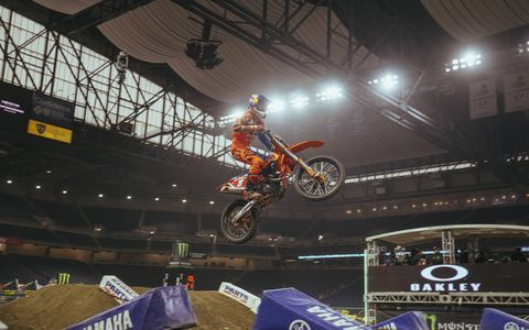 Ryan Dungey -- the face of the Monster Energy AMA Supercross series.