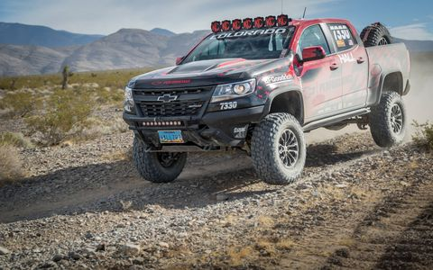 The Chevy Colorado celebrates its third birthday with a truly impressive concept vehicle, the ZR2 AEV concept.