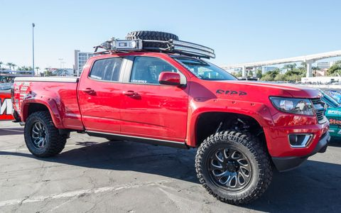 Here are some of the best actual off-roaders from the 2016 SEMA show.