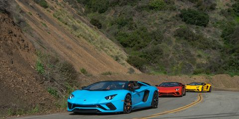 The  roadster  maintains  the  unmistakable  design  of  the  Aventador  S  along  with  unique features reflecting its roadster persona: a combination of distinctive Lamborghini design DNA and the result of extensive aerodynamic testing, Lamborghini says.
