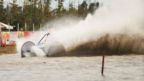 Sights from the kickoff to the 70th season of Swamp Buggy Races at Florida Sports Park in Naples, Florida.