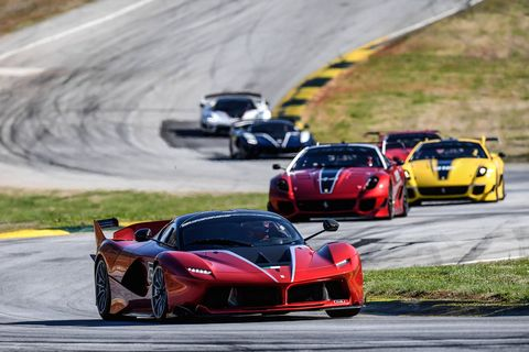 Ferrari's XX program is the longest-tenured of the hypercar track day specials. The latest FXX-K has over 1,000 hp on tap. The newly upgraded FXX-K Evo will be even quicker.