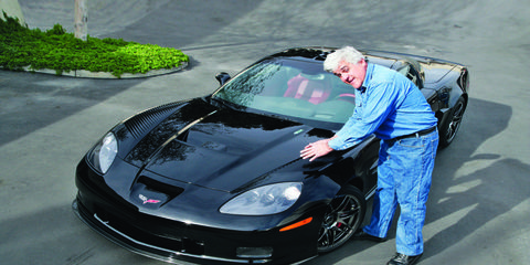 Jay Leno's E85 corvette was built to take ethanol. Some of his other, older cars were not.