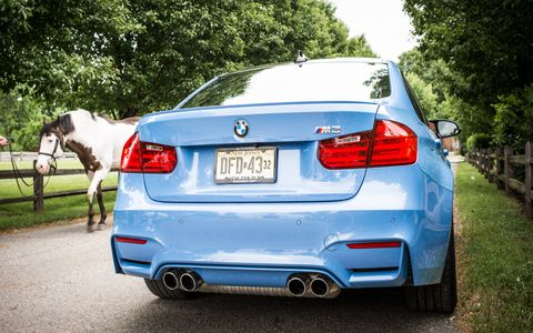 Long-term 2015 BMW M3