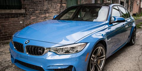 The M3 delivers 425 horsepower from 5,500 – 7,300 rpm and 406 lb-ft of torque from 1,850 – 5,500 rpm.
