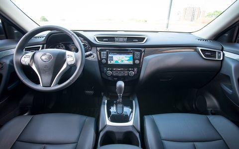 We appreciate the Rogue's right-sized flexible interior.