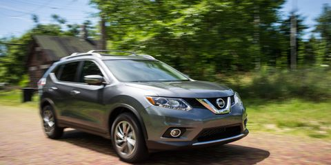 The EPA-estimated fuel economy for the Rogue is 25 mpg city/32 mpg highway/28 mpg combined.