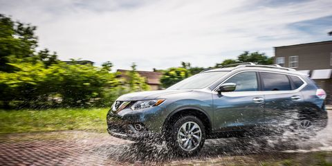 The Nissan Rogue has a blue-collar workhorse nature to it.