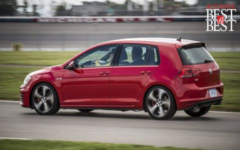 The 2015 GTI has near perfect manners on the road and around the track.
