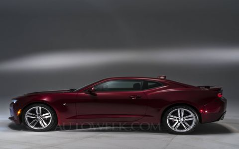 First photos of the Gen 6 2016 Chevy Camaro ponycar