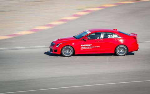 The Cadillac V-Performance Academy is designed to assist V-Series owners in mastering their vehicle's power and capabilities, while also expanding their driving skill set.
