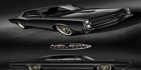 The folks at Nelson Racing Engines are putting together an all-wheel-drive, mid-engined, twin-turbocharged 1967 Pontiac GTO.