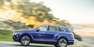 You won't be able to check out the Bentley Bentayga on the floor of the Paris motor show this year