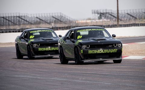 We spend a day with SRT cars at the Bondurant high performance driving program.
