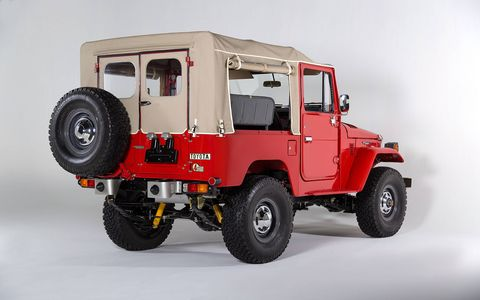 1981 Toyota Land Cruiser FJ40 Freeborn Red