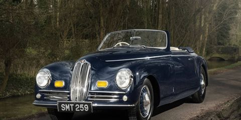 This Bristol 400 Cabrio features the marque's second-ever production chassis.