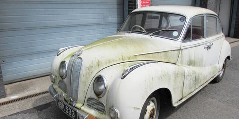 Silverstone Auction will offer this rare 502 V8 sedan at no reserve.