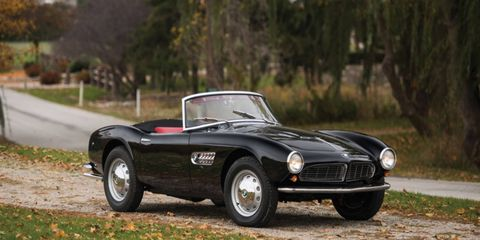 This 1959 BMW 507 no longer has its original engine, but it'll try to break the auction record for the model.