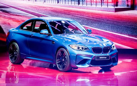 The BMW M2 made its debut at the 2016 Detroit auto show, aiming to rekindle the character of the classic Neue Klasse 2002 models.
