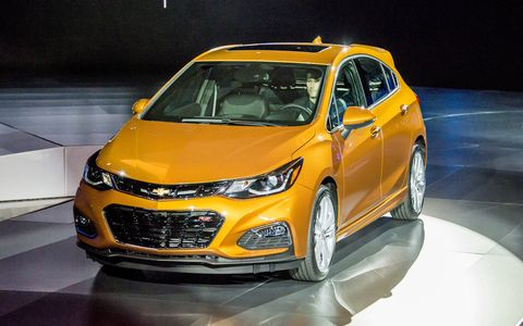 The Chevrolet Cruze hatch will go on sale in the U.S. as a 2017 model.