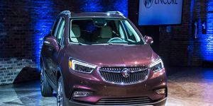 The refreshed 2017 Encore made its debut on the eve of the New York auto show.
