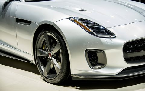 For one model year only Jaguar will offer a 400-hp version of the F-Type, powered by a 3.0-liter V6 dialed up from 380 hp.